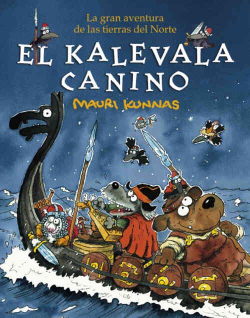 Cubierta de El Kalevala canino